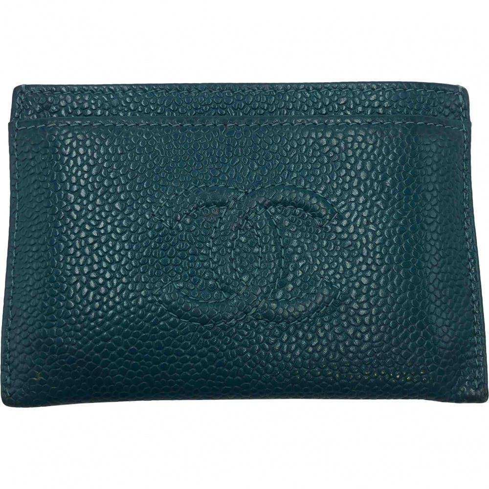 muy agradable 576c7 23df0 Tarjetero Chanel Caviar | Bolsos de marca de segunda mano ...